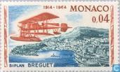 Postzegels - Monaco - Vliegrallye naar Monaco