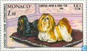 Postage Stamps - Monaco - Int. Dog Show