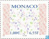 Timbres-poste - Monaco - Art contemporain