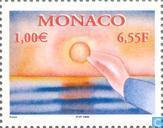 Postage Stamps - Monaco - Contemporary Art