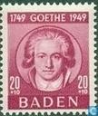 200e geboortedag J.W.von Goethe