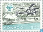 Postage Stamps - Monaco - 50 years of ICAO
