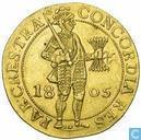 Utrecht Double ducat 1805
