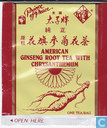 American Ginseng Root Tea with Chrysanthemum