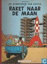 Comic Books - Tintin - Raket naar de maan