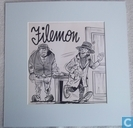 Originele illustratie 'Filemon'