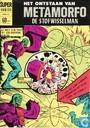 Strips - Krono, het diepzeemonster uit de ruimte - Het ontstaan van Metamorfo