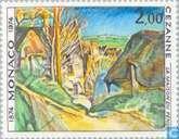 Postage Stamps - Monaco - Impressionism