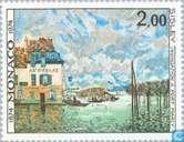 Postzegels - Monaco - Impressionisme