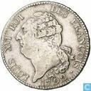 France 1 ecu 1792 (A)