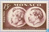 Timbres-poste - Monaco - Académie Goncourt