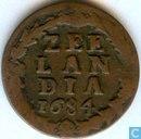 Zealand 1684 penny