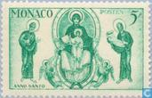 Postage Stamps - Monaco - Holy Year