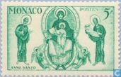 Postzegels - Monaco - Heilig Jaar
