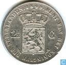 Nederland 2½ gulden 1849 (Willem II)
