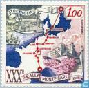 Briefmarken - Monaco - 30. Rallye Monte Carlo