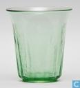 Verre / Cristal - Kristalunie - Bambusa Vaas Vert-chine 130 mm
