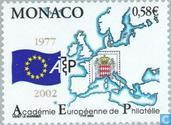 Postage Stamps - Monaco - European Academy Philately