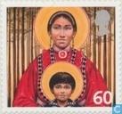 Christmas-Madonna with child
