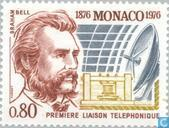 Postage Stamps - Monaco - 100 years of telephony