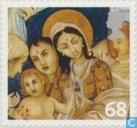 Weihnachten-Madonna mit Kind