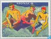 Postage Stamps - Monaco - Paintings Exhibition