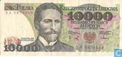 Polnische Zloty 10.000
