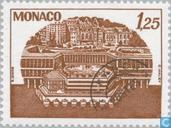 Postzegels - Monaco - Congrescentrum