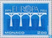 Postzegels - Monaco - Europa – Brug