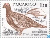 Postzegels - Monaco - Vogels