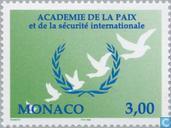 Briefmarken - Monaco - Frieden und Sicherheit Akademie