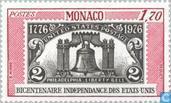 Postzegels - Monaco - U.S.A.