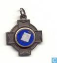 Medaillon Sainte Bernadette priez pour nous