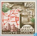 Postage Stamps - Monaco - 58th Rallye Monte Carlo