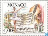Postage Stamps - Monaco - 15th Arts Festival