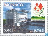 Postage Stamps - Monaco - EXPO Hannover