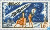Postage Stamps - Monaco - PHILATEC Paris