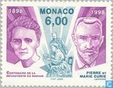 Timbres-poste - Monaco - Découverte Radium
