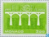 Postage Stamps - Monaco - Europe – Bridge