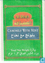 Tea bags and Tea labels - Al Diafa - Camomile with Mint