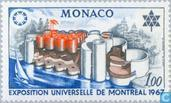 Postage Stamps - Monaco - World Fair