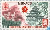 Postzegels - Monaco - Expo Osaka