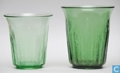 Glas / Kristall - Kristalunie - Bambusa Vaas Vert-chine 130 mm