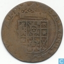 Gronsveld Oord 1617-1662 (4 shields of arms below  crown)