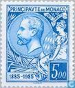 Timbres-poste - Monaco - Timbre anniversaire