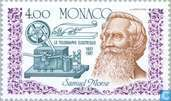 Postage Stamps - Monaco - Electric telegraph