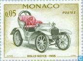 Postzegels - Monaco - Antieke auto's