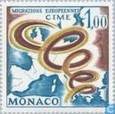 Postzegels - Monaco - C.I.M.E.
