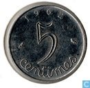 France 5 centimes 1962