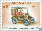 Postage Stamps - Monaco - Antique cars